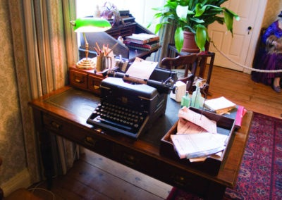 World of James Herriot Typewriter on Desk