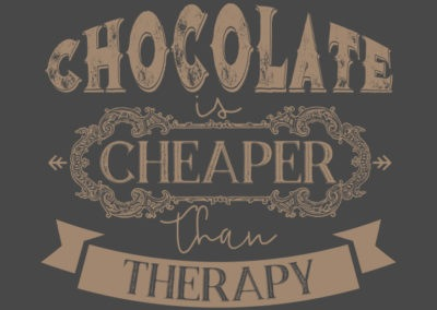 Inspired Chocolate Cheaper than Therapy