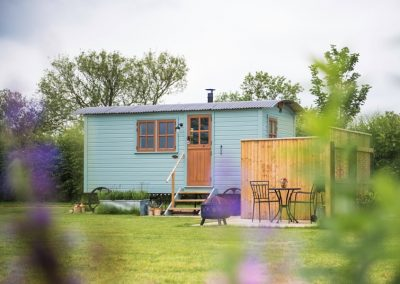 Morndyke Shepherds Huts Exterior