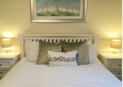 Morndyke Annexe Double Bedroom with Cushions