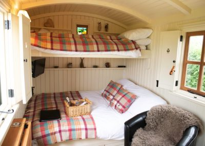 Morndyke Shepherds Hut Interior