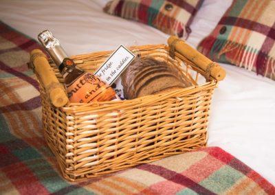 Morndyke Shepherds Hut Welcome Basket