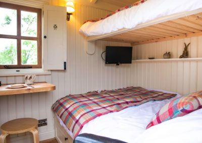 Morndyke Shepherds Huts Bed with Window