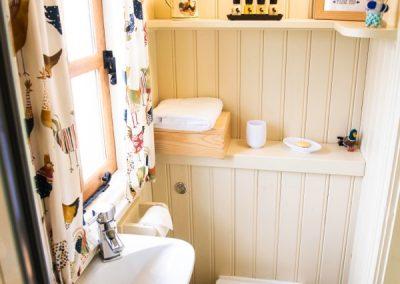 Morndyke Shepherds Huts Toilet